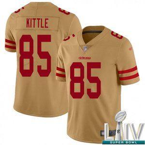 Womens George Kittle Super Bowl LIV Jersey